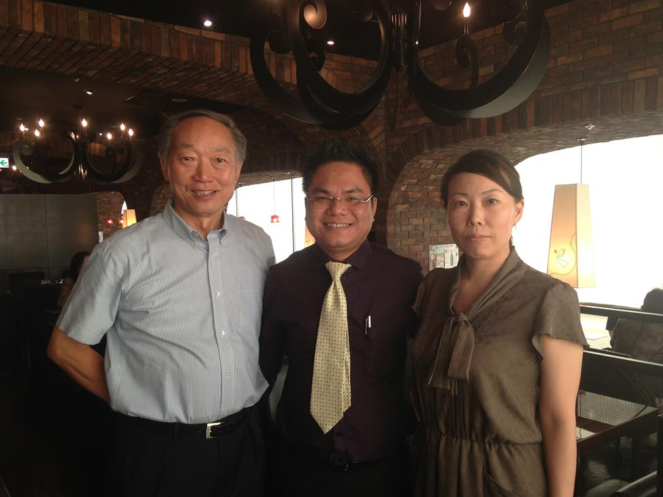 Lawyer Nguyen Thanh Ha and Mr. Takeuchi