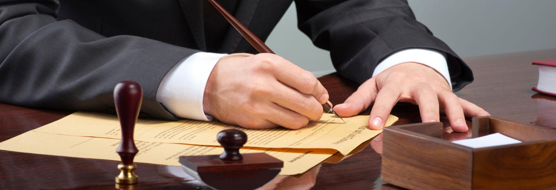 Professional law advice