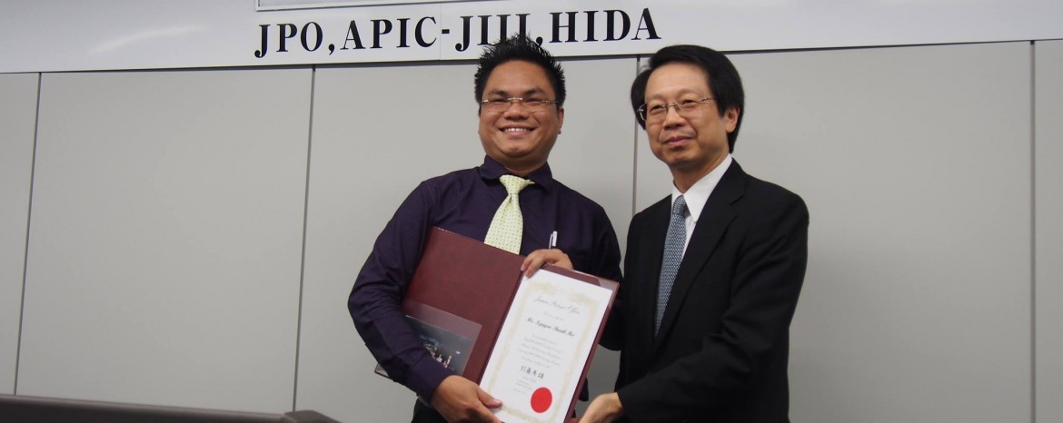Lawyer Nguyen Thanh Ha was granted Certificate from the Japan Patent Office (JPO).