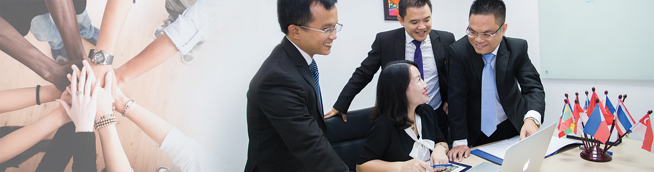 Lawyer Nguyen Thanh Ha met Japanese partner