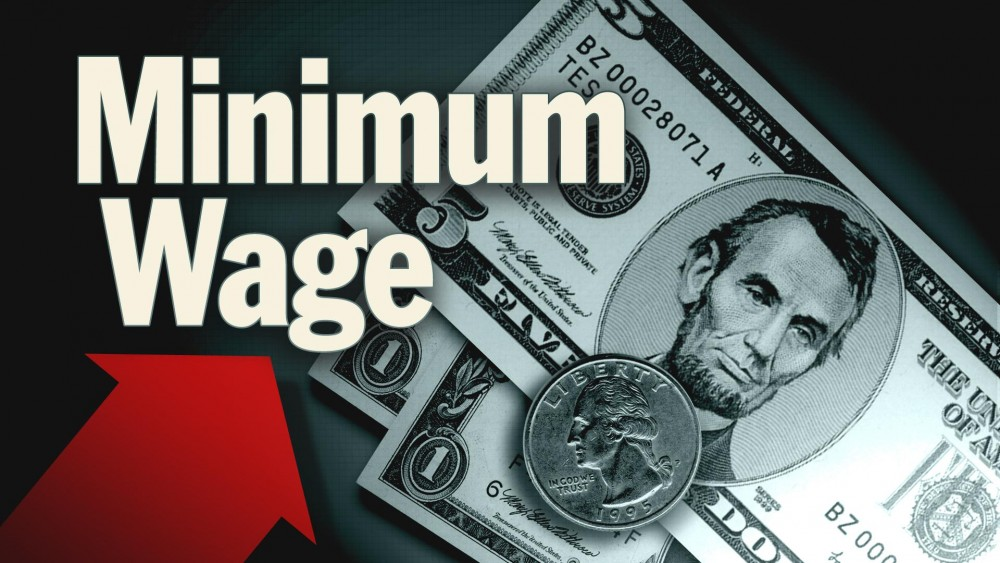 To increase on regional minimum wage from January 01, 2017