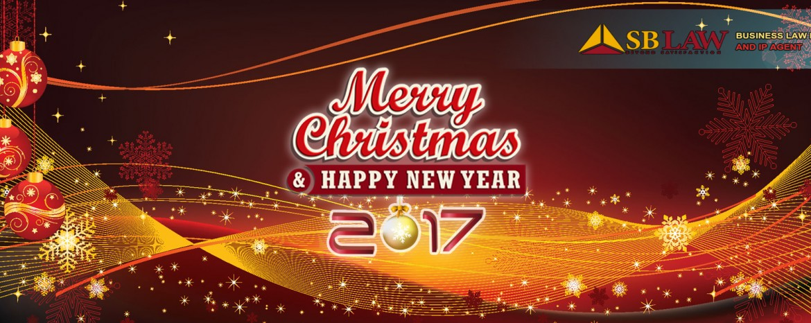 SBLAW wish you all a Merry Christmas and Happy New Year 2017.