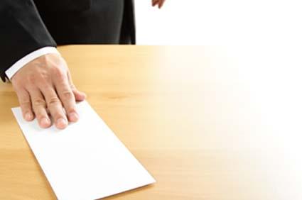 Resignation benefit
